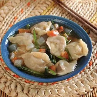 Grass Jelly Mutton Soup with Dumplings Recipes