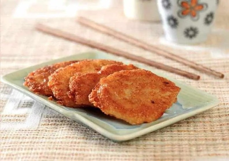 Fried Glutinous Rice Cake Recipe