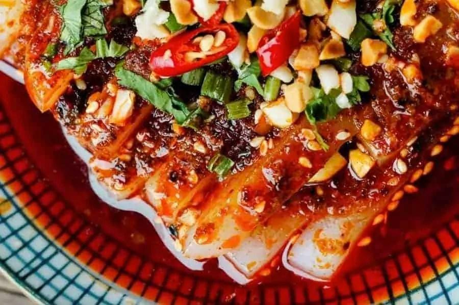 Sichuan Flavour Spicy Agar Agar Jelly Recipe