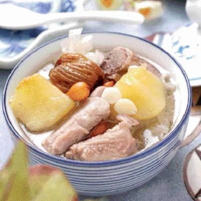 Easy Apple Pork Ribs Soup Recipe