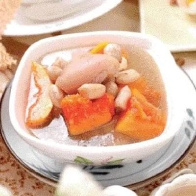 Pawpaw Prok Trotter Soup Recipe