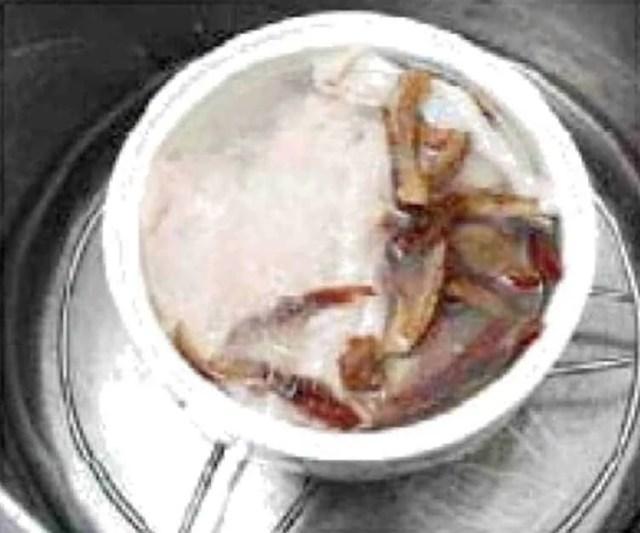 Bird's Nest With Chicken Soup Recipe step3