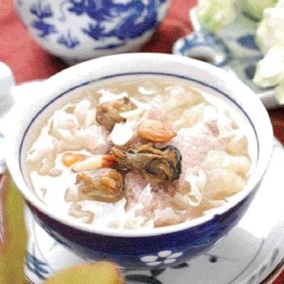 Oyster Flavour Pork Soup Recipe