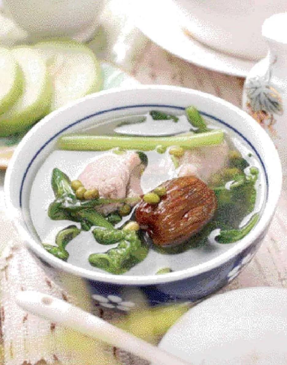 Purslane Lean Pork Soup Recipe