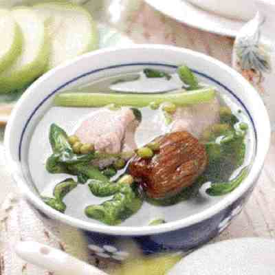 Purslane Lean Pork Soup Recipe