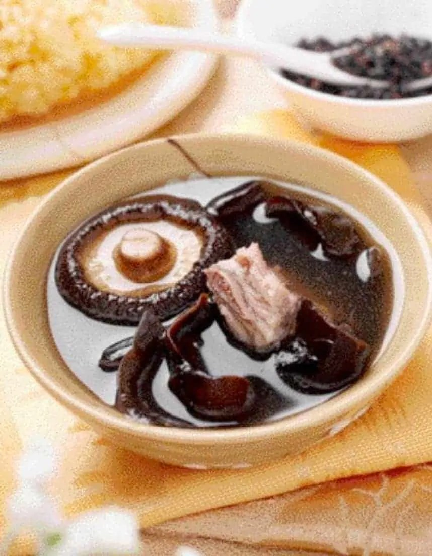Shiitake Mushroom Pork Ribs Soup Recipe