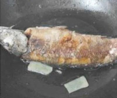 Sweet Potato Leaves Fish Soup Recipe step2