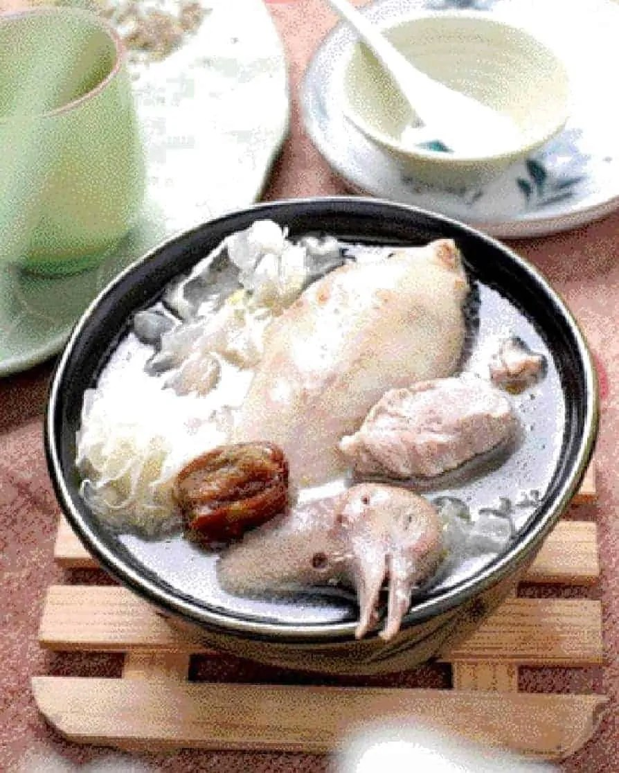 "<trp-post-container data-trp-post-id=""17499"">White Fungus and Red Date Pigeon Soup Recipe</trp-post-container>"