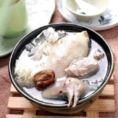 सफेद कवक और लाल तिथि कबूतर सूप पकाने की विधि