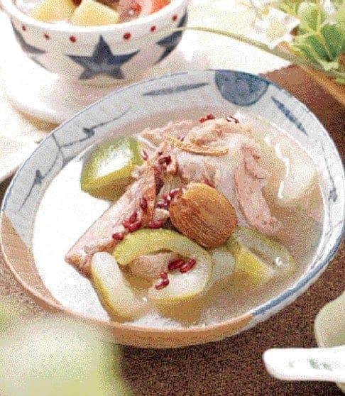 Cucumber Pork Bone Soup Recipe
