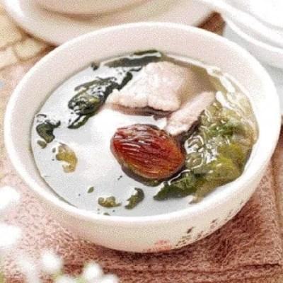 Kelp and Seaweed Lean Pork Soup Recipe