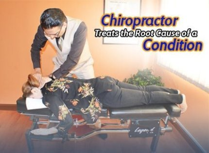 chiropractic therapy for neck pain by Dr. Yama