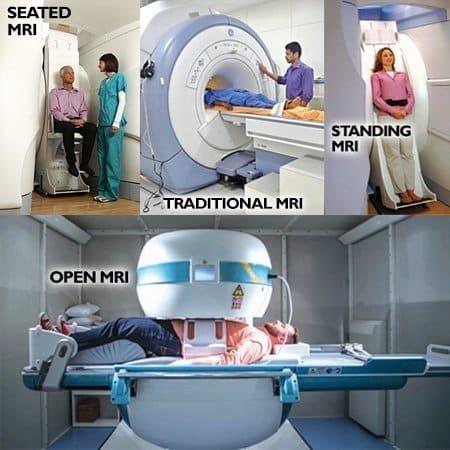 various MRI scanner shown