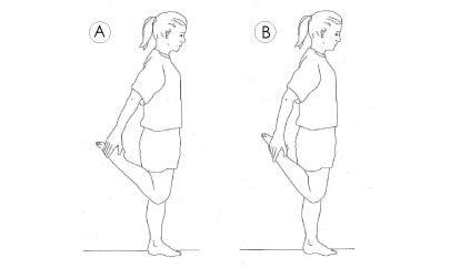 CSC's Quadriceps knee exercise for knee ligament & joint