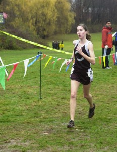 For the second year in a row, Naugy's Rosa Moriello was a top-10 finisher at the New England championship.