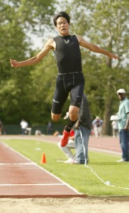 Dan Park is the defending Class M triple jump champion and the favorite to repeat as a senior.