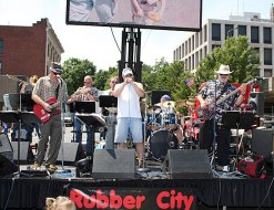 The Rubber City Blues Band performs at Naugatuck Duck Day June 5.