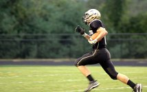 The Hawks shut down the Hearts 41-18 at their home game Sept. 15.