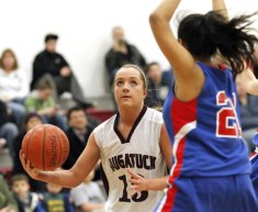 The Naugatuck girls beat St. Paul 51-38 Tuesday night in Naugatuck for their eighth win of the season and punched their ticket to the state tournament. –RA ARCHIVE