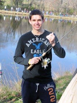 Naugatuck hosted the 21st Annual James Hennessey, Sr. Memorial Fishing Derby April 7 at Baummer Pond. – LUKE MARSHALL