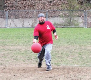 CT Triumph, a Naugatuck-based adult kickball league organized by Sean Cummings (pictured), is gearing up for a new season. –FILE PHOTO