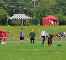 Naugatuck and Woodland competed in the Naugatuck Valley League Track and Field Championships Tuesday afternoon at Woodland. The Woodland boys and girls finished first. The Naugatuck boys finished fourth and the girls finished fifth.