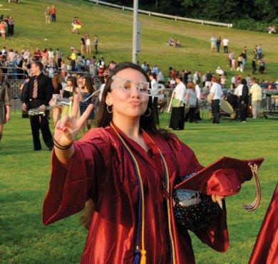 Naugatuck High School's Class of 2012 graduated June 20. –LUKE MARSHALL