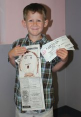 Owen Burke of Beacon Falls won the Citizen's News' annual Draw Your Dad coloring contest in the 3 to 5 year old age group.