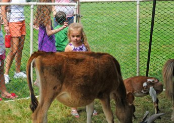 Children from throughout the area kicked off Prospect's Summer Fun Week Aug. 20. The fun week has been going on for more than 30 years, according to Prospect Mayor Robert Chatfield and featured hay and train rides, along with a petting zoo and lunch. –LUKE MARSHALL