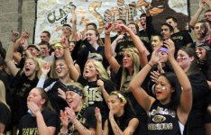 Woodland High held its annual pep rally Thanksgiving Eve. The pep rally concludes Spirit Week at the school and once again the seniors came out on top. –ELIO GUGLIOTTI