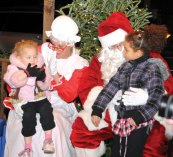 Naugatuck held its annual holiday kickoff on Dec. 3 on the Town Green. – LUKE MARSHALL