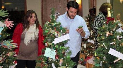 The United Way of Naugatuck and Beacon Falls opened its 6th Annual Festival of Trees Nov. 30 at Naugatuck Savings Bank, 87 Church St., Naugatuck. -ELIO GUGLIOTTI