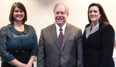 Naugatuck Valley Savings and Loan announced a number recent of promotions and new hires. Charlene Straznitskas has been promoted to senior vice president, director of retail. Straznitskas has worked with Naugatuck Valley for 38 years. Straznitskas' promotion led to the promotions of Kathleen Katrenya to vice president, regional branch administrator and Sonia Myers to vice president, regional branch administrator. David Chopak has been promoted to operational branch manager at the New Haven Road branch. Michelle Smith has been promoted to operational branch manager of the Heritage Village Branch, and Deborah Leclerc and John Stack have been promoted to branch manager of the Seymour and Cheshire offices, respectively. AnnMarie Luskay was promoted to assistant vice president, collections manager in recognition of her dedication and hard work. Amy Britton has been promoted to BSA manager. Hunter Merrill has been promoted to vice president of information technology. Kenneth Geiger has joined the Naugatuck Valley as an assistant vice president, internal real estate appraisal review manager and Laurie Siemenski was hired as an audit/risk assistant. Naugatuck Valley also recognized the achievement of Kathleen Katrenya and Ann Marino who graduated this year from the Connecticut School of Finance & Management. Pictured, Amy Britton, Kenneth Geiger and Laurie Siemenski were recently promoted by Naugatuck Valley Savings and Loan. –CONTRIBUTED