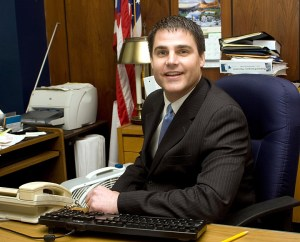Naugatuck Mayor Robert Mezzo will be honored Thursday night by Griffin Hospital's Women and Heart Disease Committee with the Community Caring Heart Award, given to someone who works to advance general health in the community. –FILE PHOTO