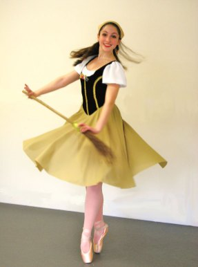 Woodland Regional High School senior Ainsley McMahon, of Prospect, will perform the part of Cinderella in the Brass City Ballet's premiere of Cinderella March 16 at 6:30 p.m. as part of the ballet's annual Spring Gala at the Naugatuck Valley Community College's Mainstage Theater. The evening features a silent auction and a post-performance champagne reception with the proceeds benefit the ballet's Margery Hall Fisk Scholarship Fund. For more information, call (203) 598-0186. -CONTRIBUTED
