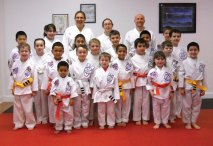 Sokol's Taekwondo in Naugatuck held a rank testing on Feb. 23. George White earned a 1st degree black belt and Dylan Trisko was promoted to 2nd degree black belt. –CONTRIBUTED