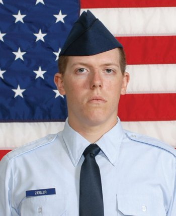 Air Force Airman Justin Ziegler recently graduated from basic military training at Joint Base San Antonio-Lackland, San Antonio, Texas.Ziegler, a 2011 graduate of Pomperaug High School in Southbury, is the son of Tracy Jandrok of Southbury and Joseph Ziegler of Naugatuck. -CONTRIBUTED