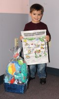 Alexander Gelada, of Naugatuck, won the Citizen's News Easter coloring contest in the 3- to 5-year-old age group.-LUKE MARSHALL