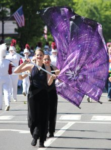 Naugatuck held its annual Memorial Day parade May 27. The parade started on North Main Street in Union City and ended at the Town Green for a ceremony. –ELIO GUGLIOTTI