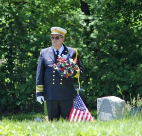 Prospect held its annual Memorial Day was held parade May 27. The parade marched through downtown to the Prospect Ceremony for a ceremony honoring veterans who have died. –ELIO GUGLIOTTI