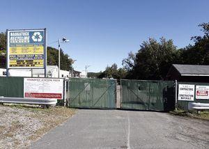 Naugatuck Public Works Director James Stewart is looking to move the recycling center from its current Rubber Avenue location to behind the police department on Spring Street. –RA ARCHIVE
