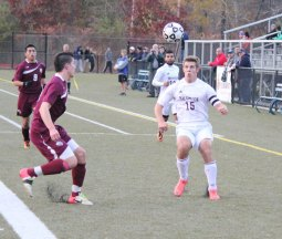 Naugatuck defeated Torrington, 4-1, Oct. 30 at Municipal Stadium in Waterbury to win the NVL tournament. –ELIO GUGLIOTTI