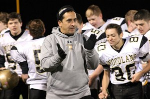 George Pinho was a staple on the sidelines at Woodland from 2008 until the time of his death in January. Pinho volunteered for a variety of youth sports organizations in Prospect, Naugatuck and Beacon Falls during his life as a labor of love. -RACHAEL MORIN