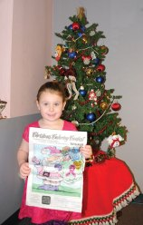 Brooke Campbell, of Naugatuck, won the Citizen's News annual Christmas coloring contest in the 3- to 5-year-old age group. –LUKE MARSHALL
