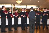 Members of The Legionnaires from The Seminary in Cheshire perform during the Naugatuck Woman's Club Christmas luncheon Dec. 2 at the Continental Room in Naugatuck. The Brothers had lunch with the club, then performed holiday music acapella. The club also collected donations for Toys for Tots and the Naugatuck Ecumenical Food Bank during the luncheon, which was the club's final meeting until April. For more information on the club or attending a future luncheon, call Laura Smith at (203) 729-4263. –CONTRIBUTED