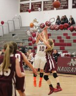 Naugatuck fell to Torrington, 52-36, Feb. 20. –ELIO GUGLIOTTI