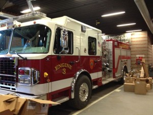 Naugatuck's new fire engine arrived Thursday and cost about $500,000. It is expected to be on the road within the next month. –RA ARCHIVE