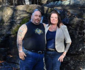 Naugatuck resident John Maida, left, was killed and his fiancé Cyndi Corker, right, was injured in a car accident in December. A benefit event will be held March 29 at the Naugatuck Polish Club to help Corker with her living expenses and medical bills. –CONTRIBUTED