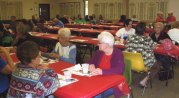 Naugatuck Boy Scout Troop 109 hosted is annual ziti dinner recently at the Naugatuck Elks Lodge on Rubber Avenue. –CONTRIBUTED