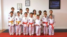 Sokol's Taekwondo recently held rank testings in April for white, orange, yellow, camouflage green, purple, blue, brown and red belts along with its first black belt only testing on. Special guest judges Justin Garofano, a fifth degree black belt, and Robert Landrum, a sixth degree black belt, came down from Massachusetts to advance three second degrees to the rank of third degree black belt. –CONTRIBUTED